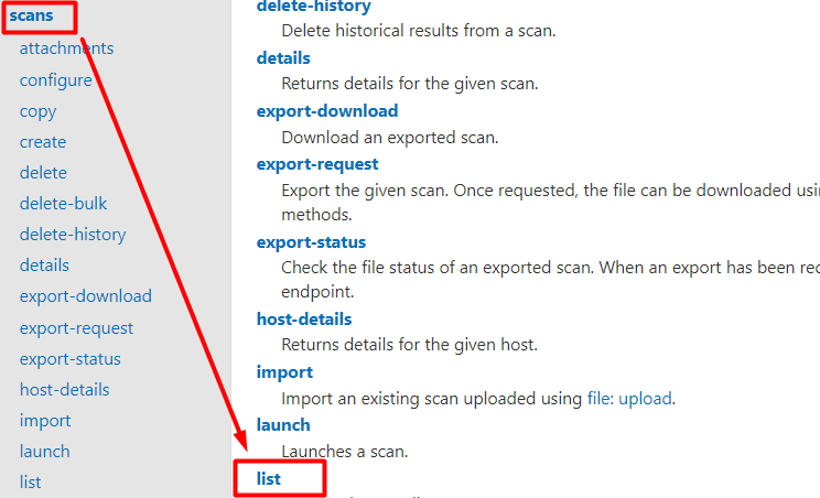 How to verify user permissions using the interactive Nessus