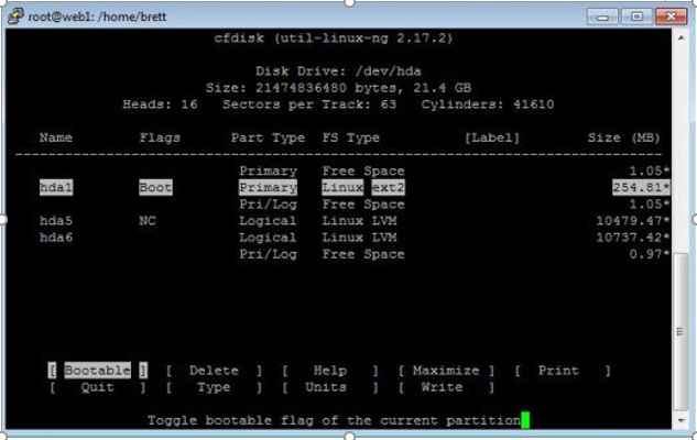 How to Expand the Size of Disk Volume on a LCE Virtual